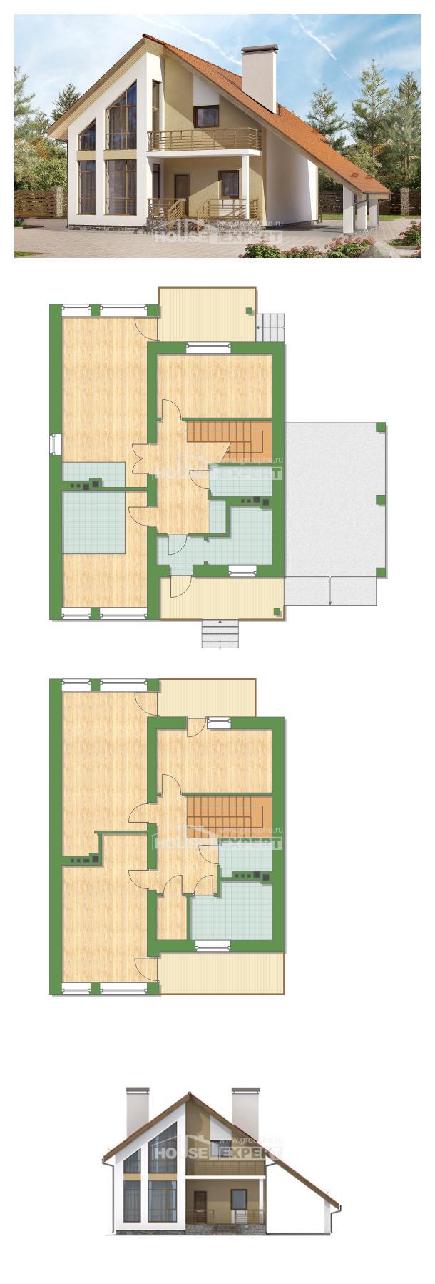 Проект дома 170-009-П | House Expert