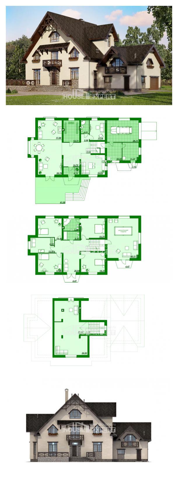 Проект дома 435-002-П   House Expert