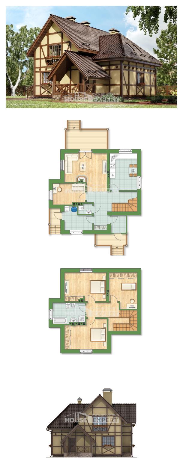 Проект дома 160-003-П   House Expert