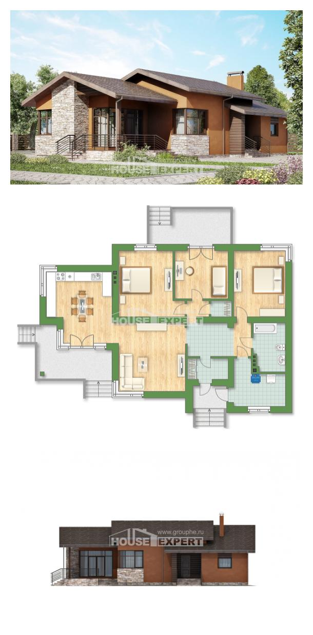 Проект дома 130-007-П | House Expert