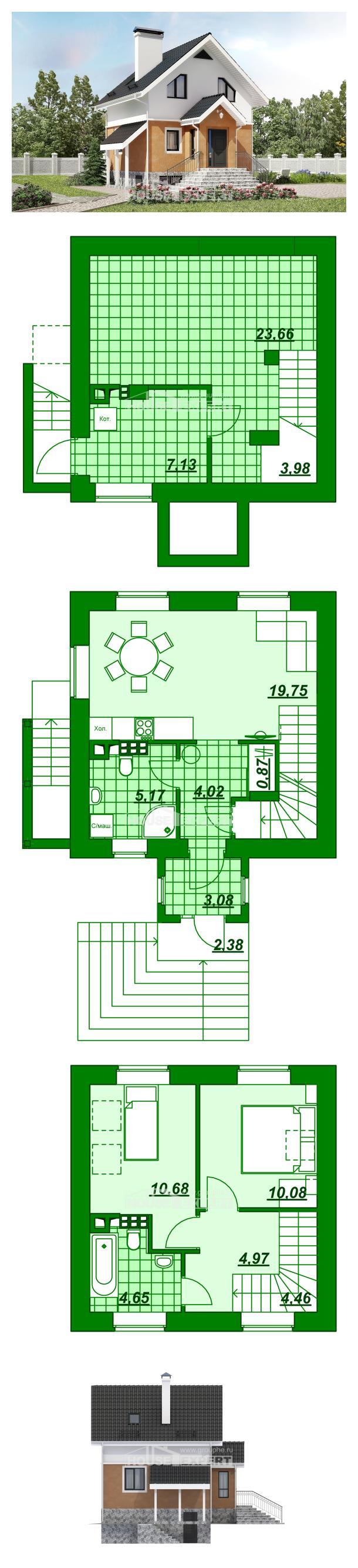 Проект дома 100-005-Л | House Expert