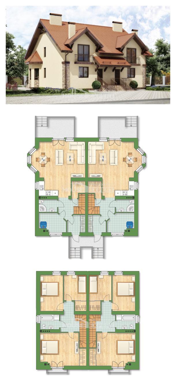Проект дома 240-001-П | House Expert
