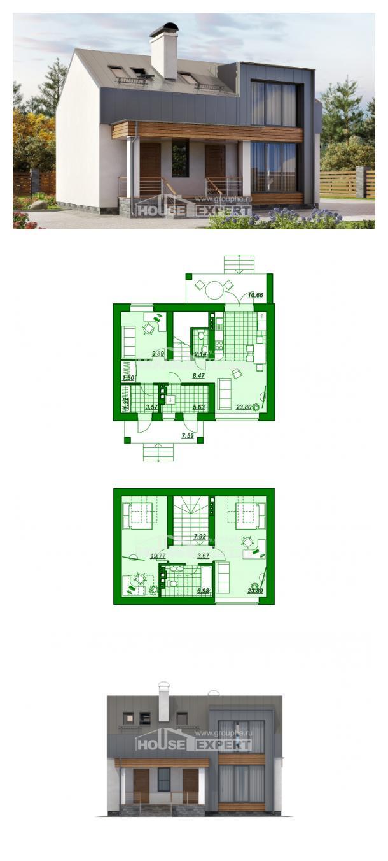 Проект дома 120-004-П | House Expert
