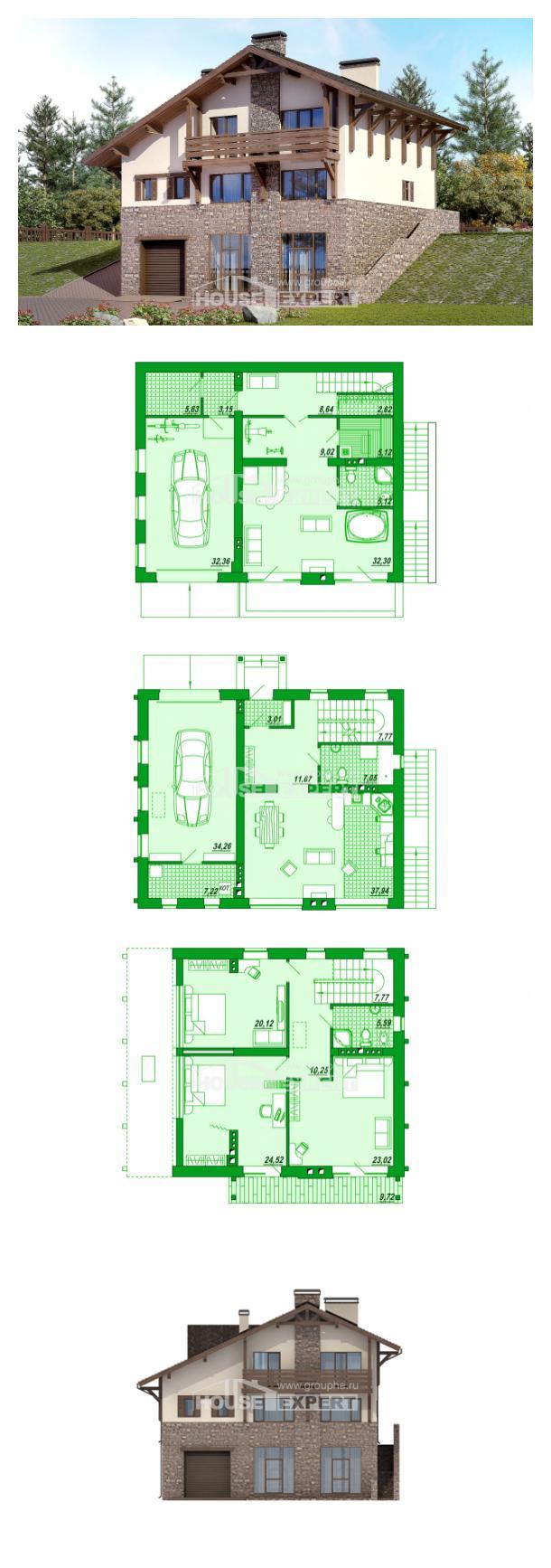 Проект дома 305-002-Л   House Expert