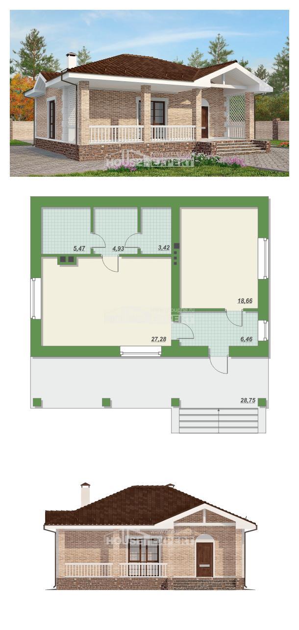 Проект дома 065-002-П   House Expert
