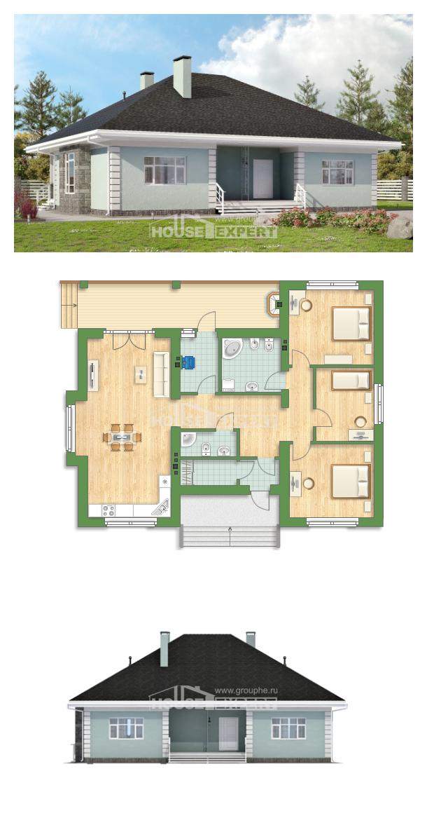 Проект дома 135-003-Л | House Expert