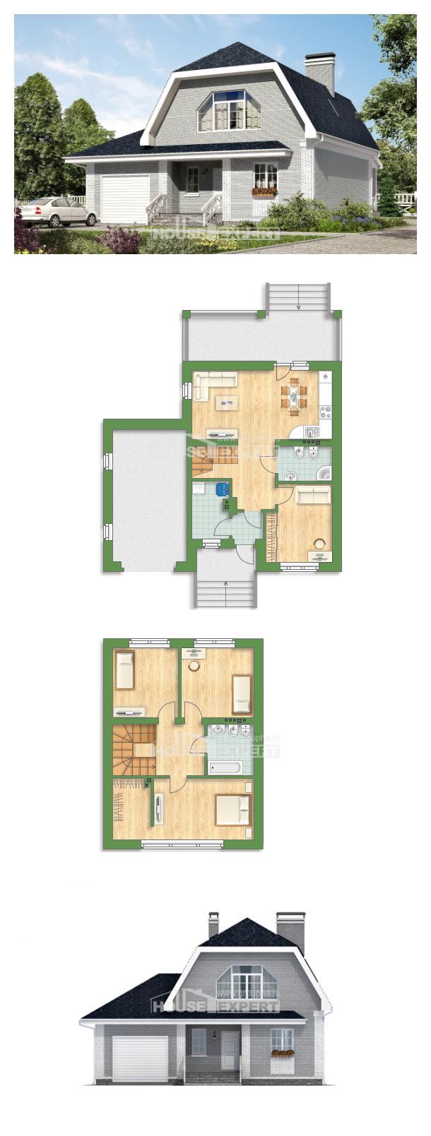 Проект дома 160-006-Л | House Expert